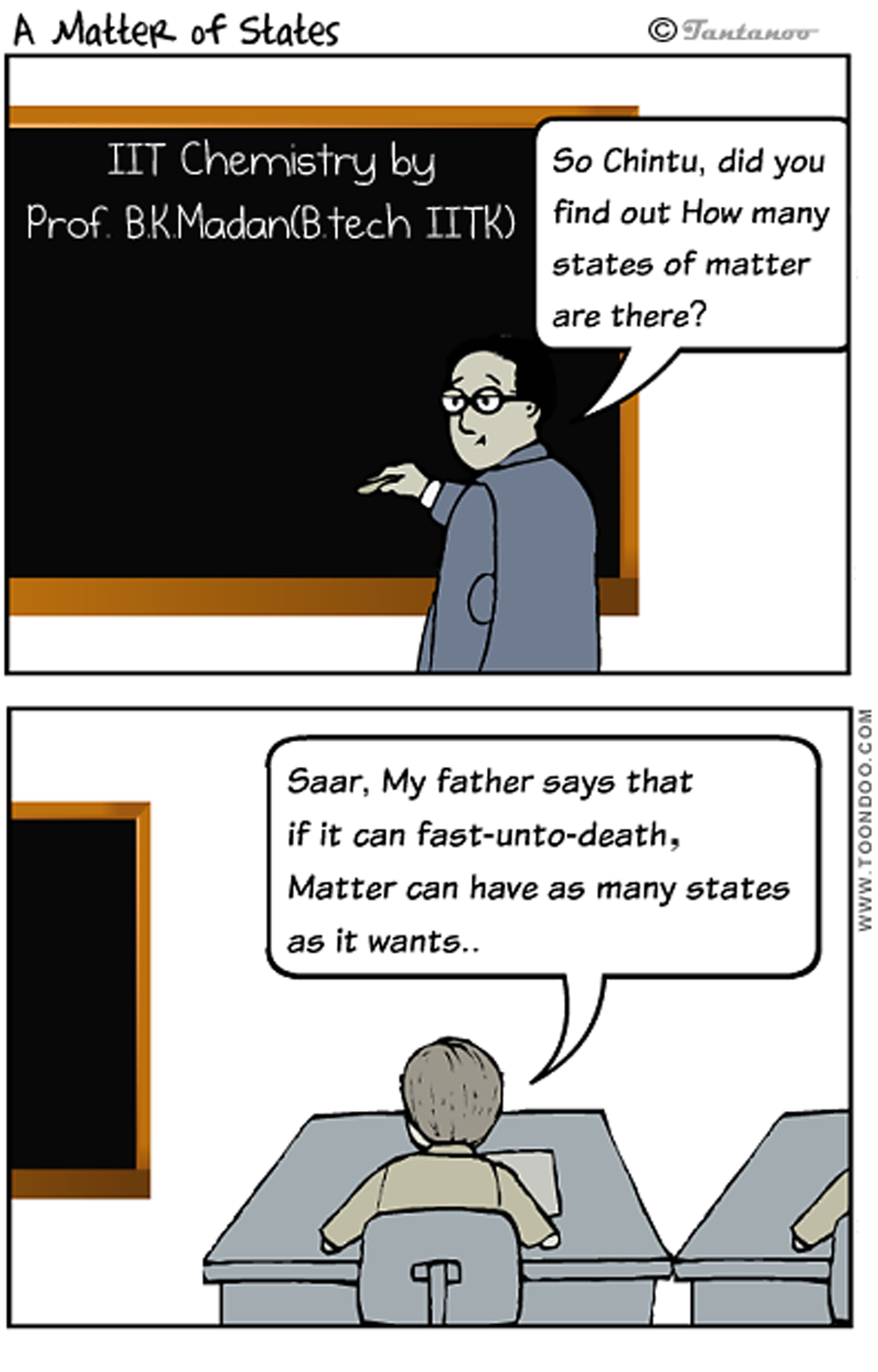 A Matter of States