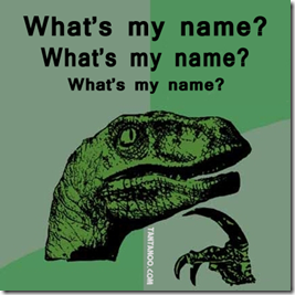 whats my name